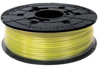 Катушка с нитью 1.75мм/0.6кг PLA(NFC) XYZprinting Filament для Junior, miniMaker, Nano, проз.желт.