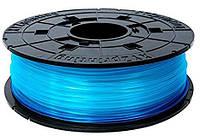 Катушка с нитью 1.75мм/0.6кг PLA(NFC) XYZprinting Filament для Junior, miniMaker, Nano, прозр.син.