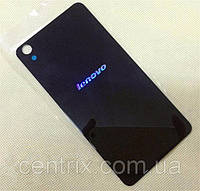 Задняя крышка для Lenovo S850, черная, оригинал (логотип просвечивается)