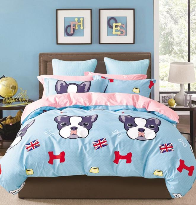Комплект детского постельного белья Бульдог