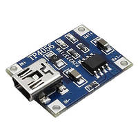 TP4056 модуль плата заряда литиевых LI-ION аккумуляторов 18650 - mini USB