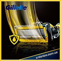 Gillette Fusion ProShield YELLOW 4 шт. сменные кассеты для бритья оригинал США