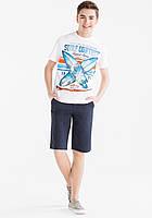 Стильный летний набор шорты и футболка для мальчика C&A Германия Размер 134-140, 158-164