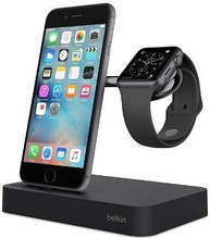Док-станция BELKIN Charge Dock iWatch + iPhone, black