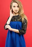 Платье электрик Эмма, р-р 50, фото 4