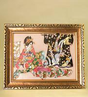 Фарфоровая настенная картина Гейша (Pavone)