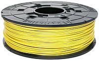 Катушка с нитью 1.75мм/0.6кг ABS XYZprinting Filament для da Vinci, желтый