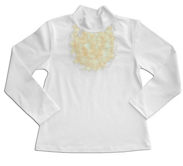 """Нарядная блуза для девочки """"Жабо"""""""