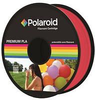 Катушка с нитью 1.75мм/1кг PLA Polaroid для 3D принтера, прозрачный красный