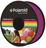 Катушка с нитью 1.75мм/1кг PLA Polaroid для 3D принтера, прозрачный пурпурный