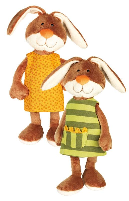 Мягкая игрушка sigikid Кролик в платье 40 см 38327SK