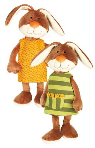 Мягкая игрушка sigikid Кролик в платье 40 см 38327SK, фото 2