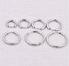 Cерьга кольцо для пирсинга (носа,ушей,губ) Сережка 2.5 * 18мм
