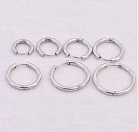Cерьга кольцо для пирсинга (носа,ушей,губ)Сережка 3.0 * 22мм