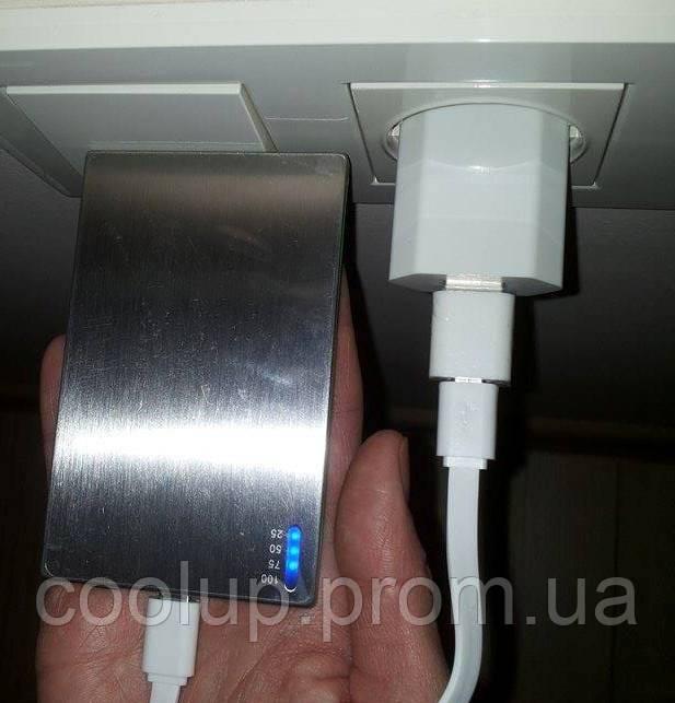 как зарядить портативное зарядное устройство