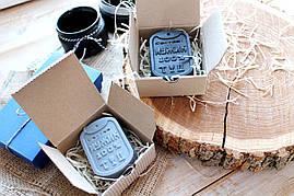 Мыло для мужчин жетон в коробке