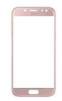 Стекло (для ремонта дисплея) Samsung J530F Galaxy J5 (2017), розовое