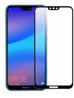 Защитное стекло для Huawei P20 Lite (0.3 мм, 3D, с олеофобным покрытием) цвет черный
