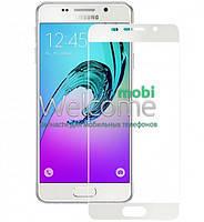 Защитное стекло для Samsung A310 (2016) Galaxy A3 (0.3 мм, 3D, с олеофобным покрытием) цвет белый