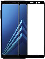 Стекло (для ремонта дисплея) Samsung A605 Galaxy A6+ (2018) черный