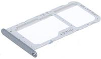 Лоток для сим карты и карты памяти для Huawei Honor 9 Lite (LLD-L31), серый