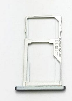 Лоток для сим карты и карты памяти для Meizu M5, белый