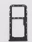 Лоток для сим карты и карты памяти для Meizu M6 (M711), черный