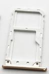 Лоток для сим карты и карты памяти для Xiaomi Mi A1/Mi 5x, золотистый