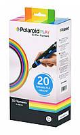 Набор нити 1.75мм PLA для ручки 3D Polaroid PLAY (20 цветов)