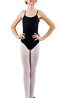 Детский купальник-боди для хореографии на бретелях Dance&Sport N012 хлопок