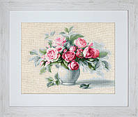 ЛУКА - С  Этюд с чайными розами
