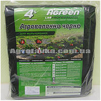 Агроволокно 50г/кв.м. 1,6м*5м чёрное, Agreen, Агроволокно в пакетах, фото 1