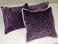 Комплект подушек Креш Фиолет 3шт 30х30, фото 1