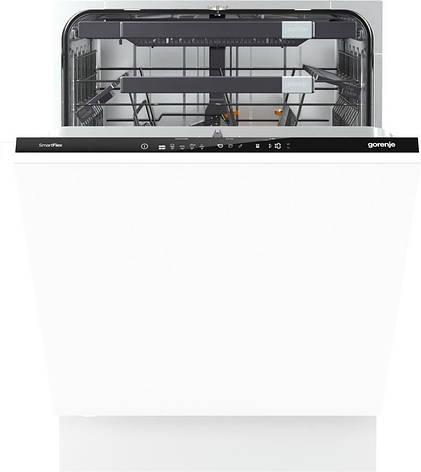 Встраиваемая посудом/маш. Gorenje GV 68260/60 см./ 13 компл/электр.упр-ние/диспл/А+++/полный АкваСт, фото 2