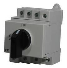 "Выключатель нагрузки PV, ETI, LS 25  4р ""1-0"" 25A 1000V DC, GREEN PROTECT"