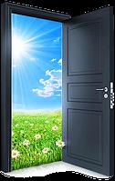 Порошковая покраска металлических дверей. Покраска двери