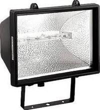 Прожектор ИО 1500 галогенный чёрный IP 54