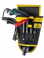 Кобура TOPEX для электроинструментов, 4 гнезда для сверл