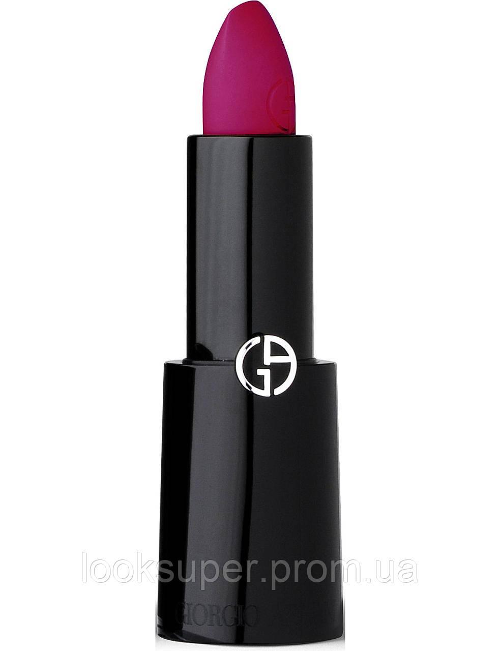 Губная помада GIORGIO ARMANI Rouge d'Armani lipstick Plum 600