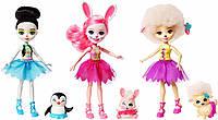 """Игровой набор Энчантималс """"Балерины"""" (Enchantimals Ballet Cuties Doll 3-pack), Mattel"""
