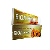 """Зубной комплекс """"БІОЛІНКА"""" 150г  отбеливает, укрепляет зубную эмаль, предотвращает  зубной налет"""