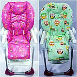 Двухсторонний чехол на стульчик для кормления Chicco Polly, фото 5