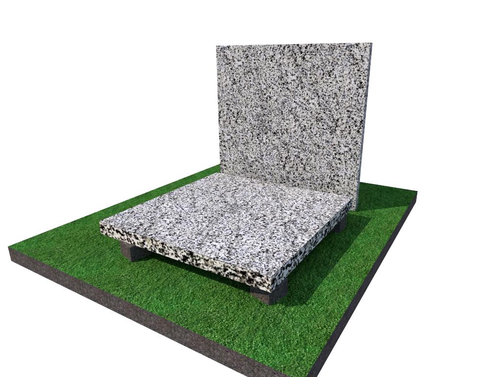 Плитка  гранитная  Покостовская термообработанная размер  300*300*40 (стандарт)