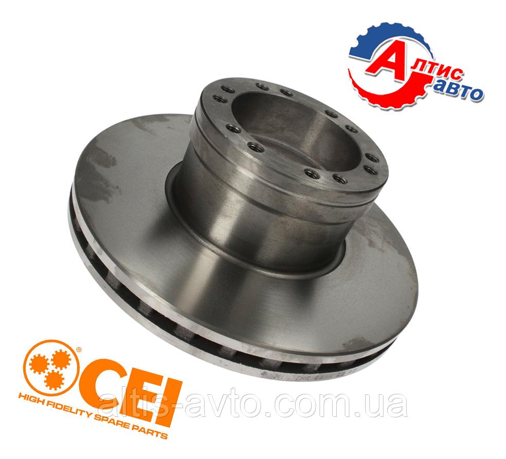 Тормозной диск DAF 45 LF 55, производитель CEI усильного качества