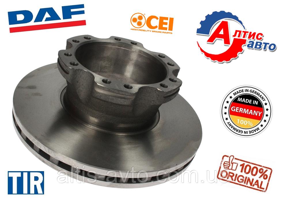 Тормозной диск DAF LF 45, 55 (330mmx34mm) (производитель CEI)