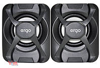 Акустика ERGO S-203 USB 2.0 Black