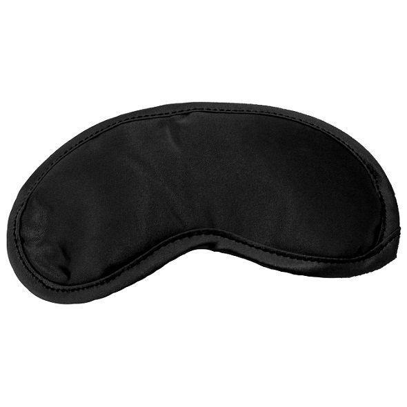 Маска на глаза Sex And Mischief - Satin Black Blindfold