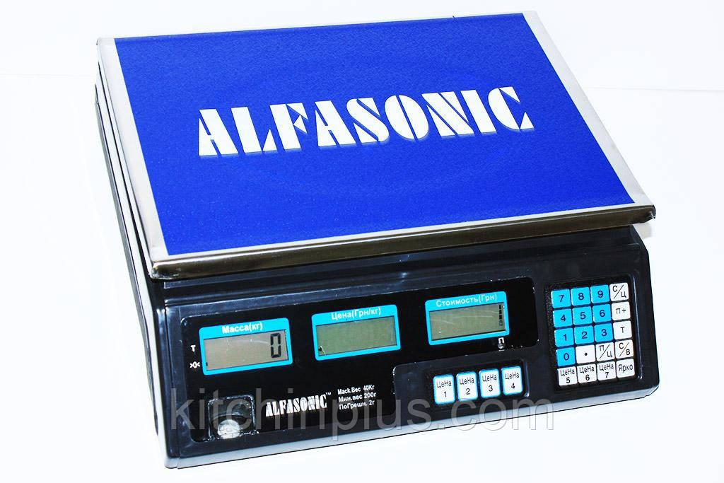 Весы торговые Alfasonik AS-A40