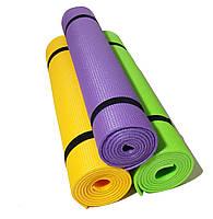 """Каремат для йоги 1800×600×5мм, """"Джуниор XL"""", однослойный"""