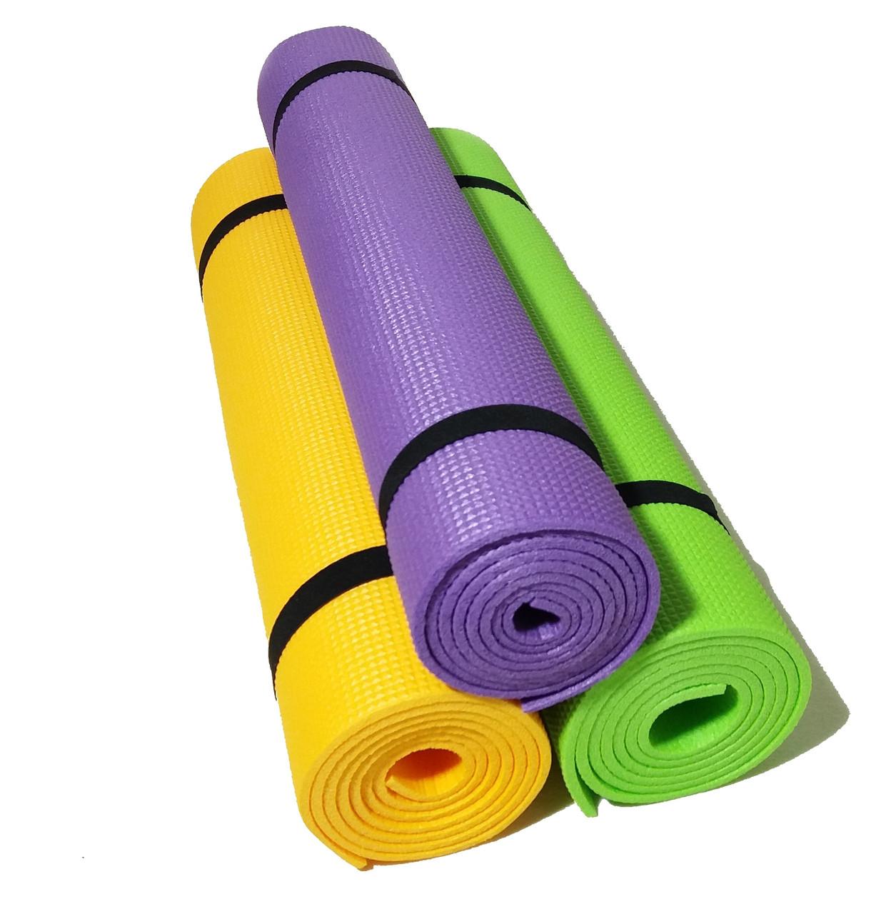 8e5471614ca4 Коврик для йоги и фитнеса, 1800×600×5мм, ХС ППЭ, однослойный, цена ...
